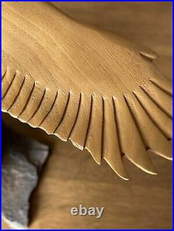 Rare Big Sky Carvers Masters Edition Woodcarving Eagle By K W White #548/1250