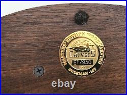 Rare Big Sky Carvers Masters Editon Mallard Ducklings Wood Sculpture 911/950