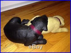 Rare/discontinued Labs Sleeping Snuggly Siblings Big Sky Carvers