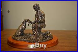 SOLD OUT Bradford Williams Big Sky Carvers Strong Bond Hunter with Lab