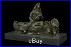 Sculpture Statue NEW BIG SKY CARVERS ORIGINAL MILO CANOE TRIP BEAR BEARS CUB Ar