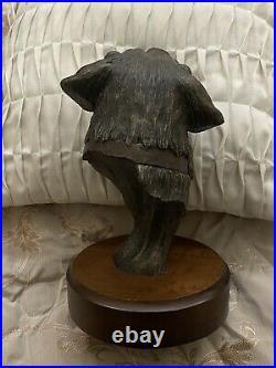 Sculpture by Bradford Williams Big Sky Carvers Old Brown Eyes 125/1250