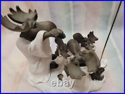 Very Rare'Moose Choir' Phyllis Driscoll Bearfoots Big Sky Carvers