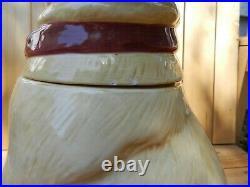 Vintage 2001 Big Sky Carvers Yellow Lab Cookie Jar 12.5