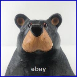 Vintage Big Sky Carver Wood Bear