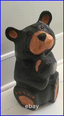 Vintage Big Sky Carvers Carved Wood Bear BROOKE 13 inches