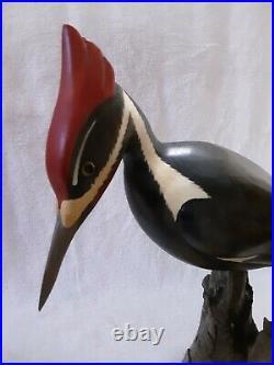 Vintage Big Sky Carvers Master's Edition Wood carving Decoy shorebird 605/1250