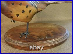 Vintage Big Sky Carvers Masters Edition Woodcarving PHEASANT Bird Limited