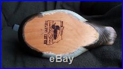 Vintage Big Sky Carvers Redhead Wooden Duck Decoy #267 Beautiful