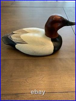 Vintage Big Sky Carvers Wooden Duck Linda Williams 1999
