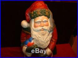 Vintage Big Sky Carvers Woodland Santa By Stuart Bond Bridger Trading Company