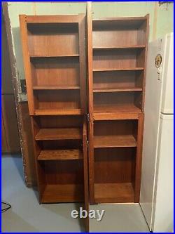 William Herrick Big Sky Carvers Twin Bookcases